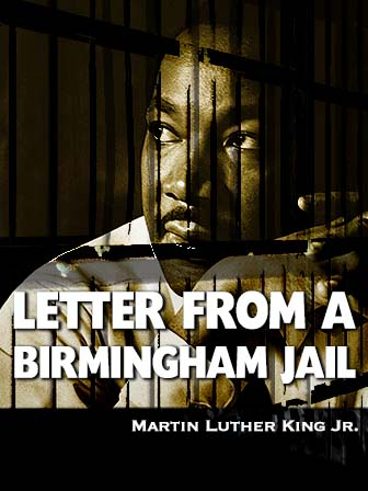 Photo of Dr. Martin Luther King - Book Cover Letter From a Birmingham Jail