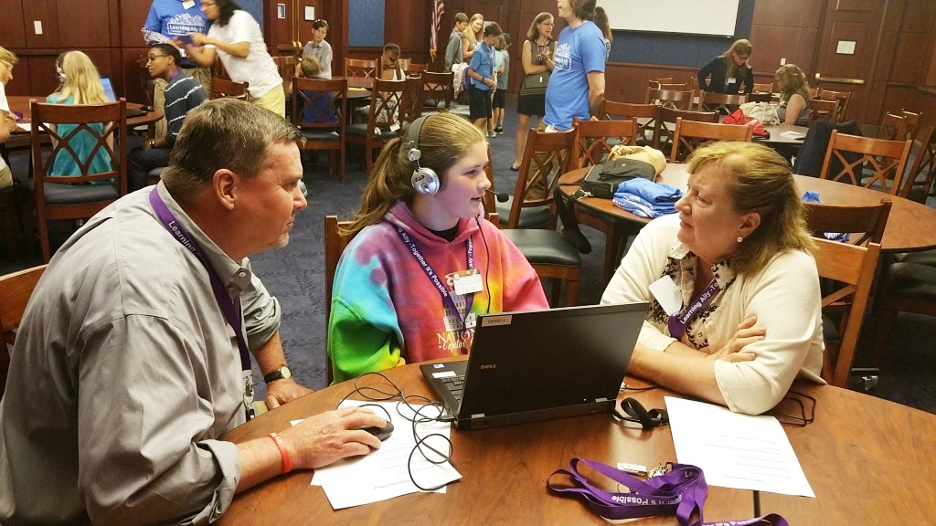 Youth Dyslexia Advocacy Camp Evokes Powerful Voices in Washington