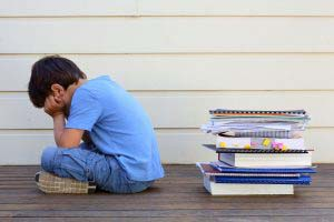 Struggling reader turns away from books