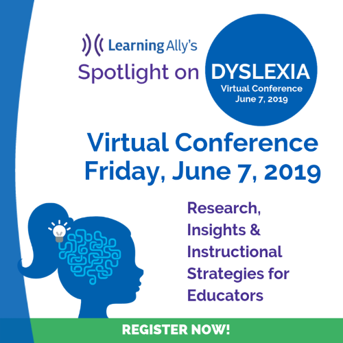 Spotlight on Dyslexia conference logo