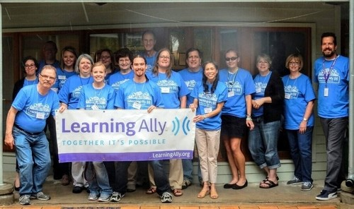 YES! team members from Learning Ally
